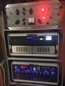 Robert Sanderson's recording rig