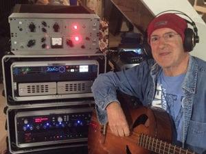 Robert Sanderson with his BLUEBOX BBWR24MP