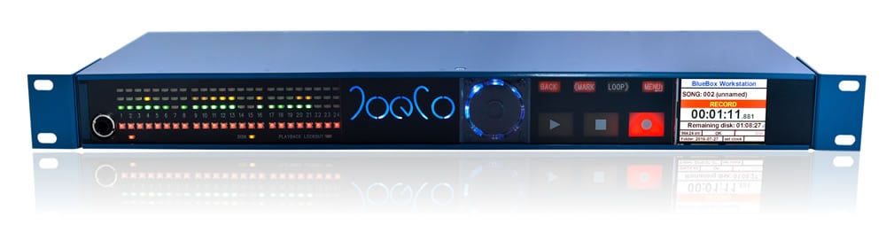 JoeCo bluebox workstation interface recorder